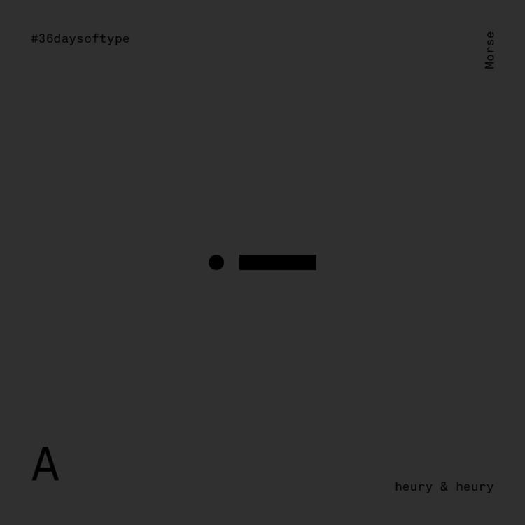 Morse 36 Days Type - 36days_a, 36days_b - heuryandheury | ello