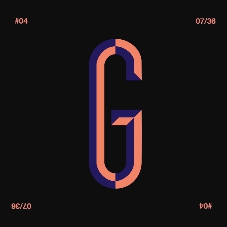 1 week mark - 36daysoftype, 36days_g - iled | ello