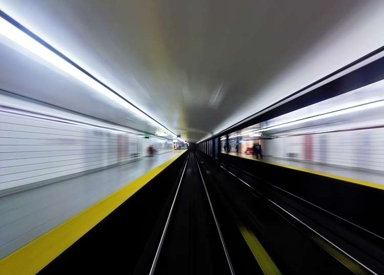 Speed 3. Toronto Canada subway  - thelearningcurvephotography | ello