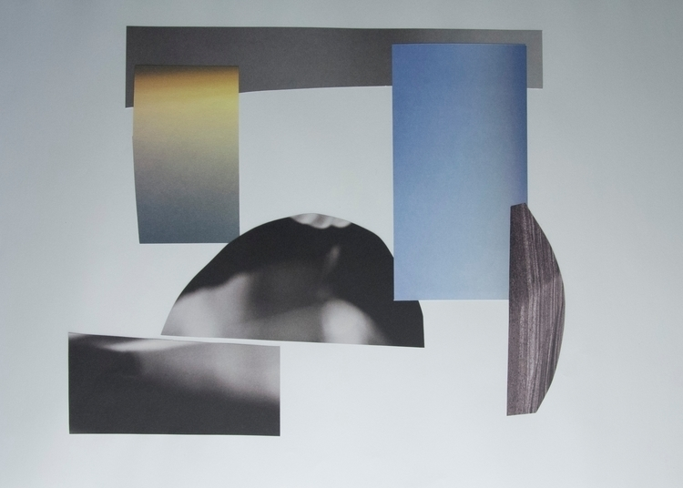 Rise Set, Collage - art, abstract - wrjenkinson | ello