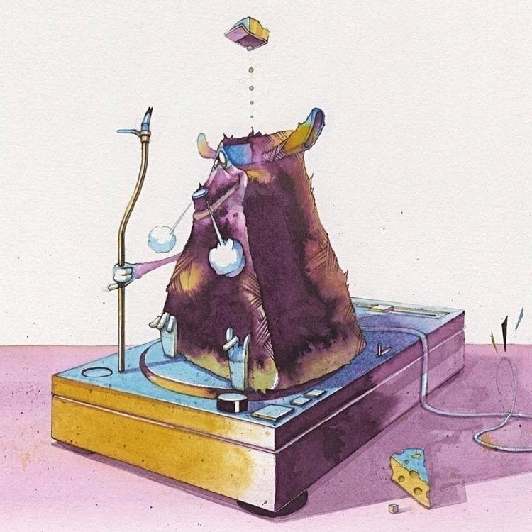 Rat Race - artist - talltreesoftokyo - helliongallery | ello