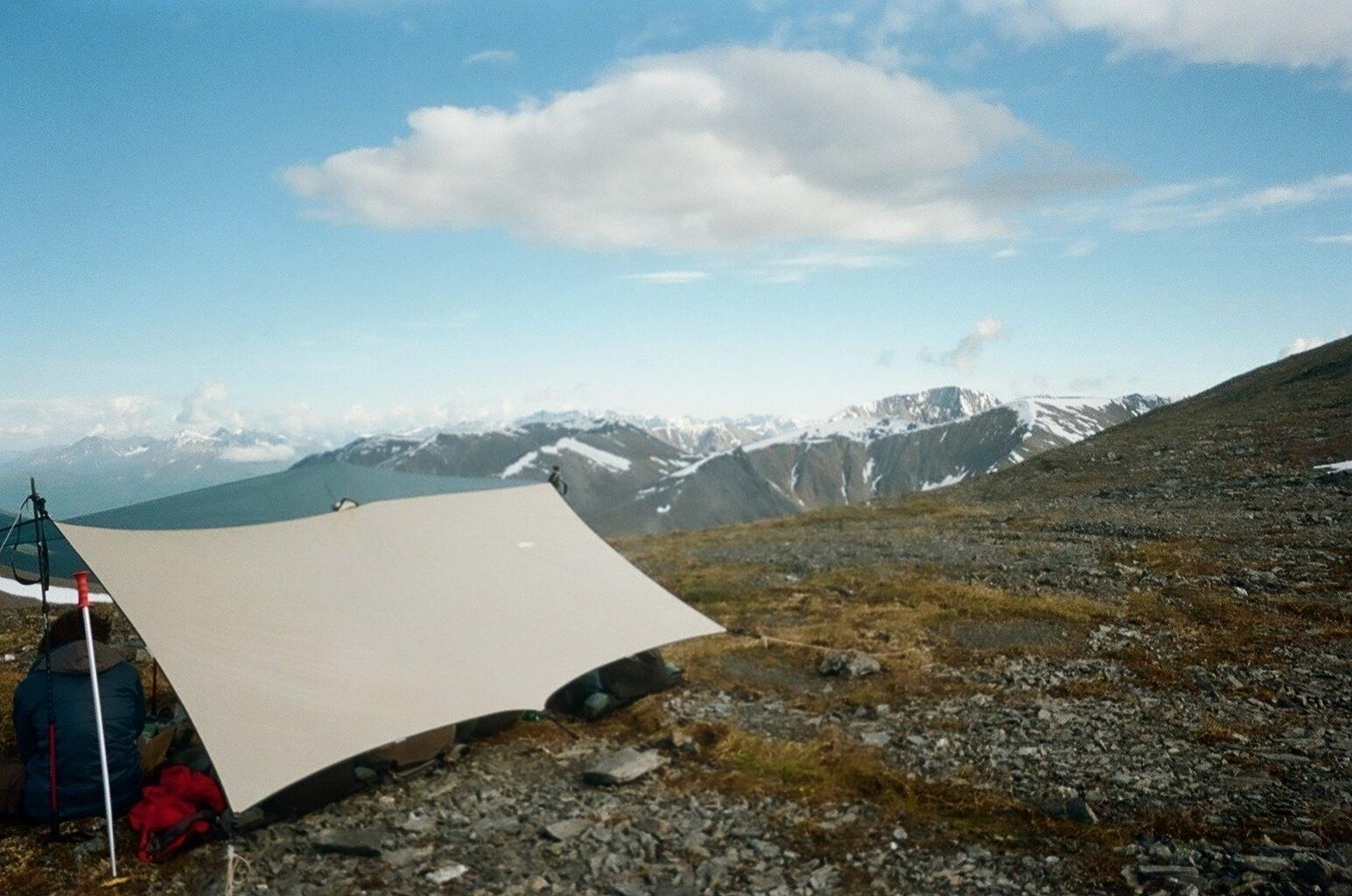 ridge line. Chugach Mountain Ra - theladymountaingoat | ello