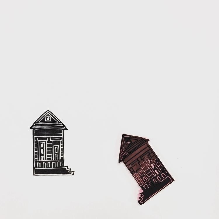 making shotgun houses ーーーーーーーーー - igimidraws | ello