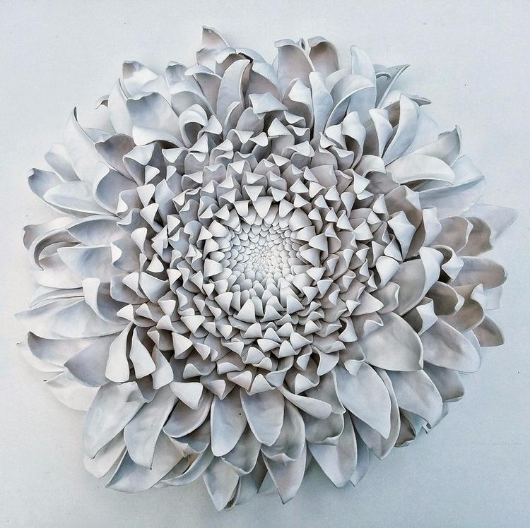 Incríveis Flores de Cerâmica El - mariaelisacruzlima | ello