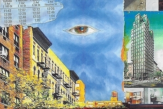 Eye Avenue Hugh Stegman Collage - gammainfinity | ello