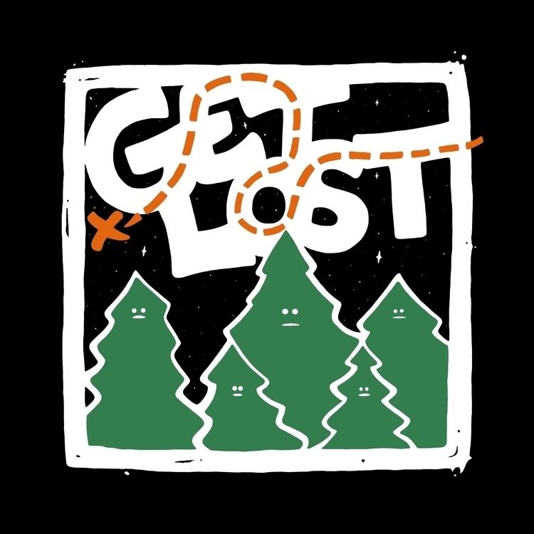 LOST... creepy trees. finished  - angchor | ello
