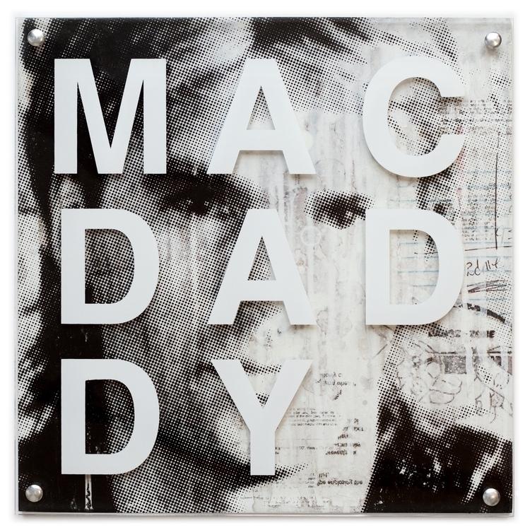 Macdaddy - color screen printed - conartstudio   ello