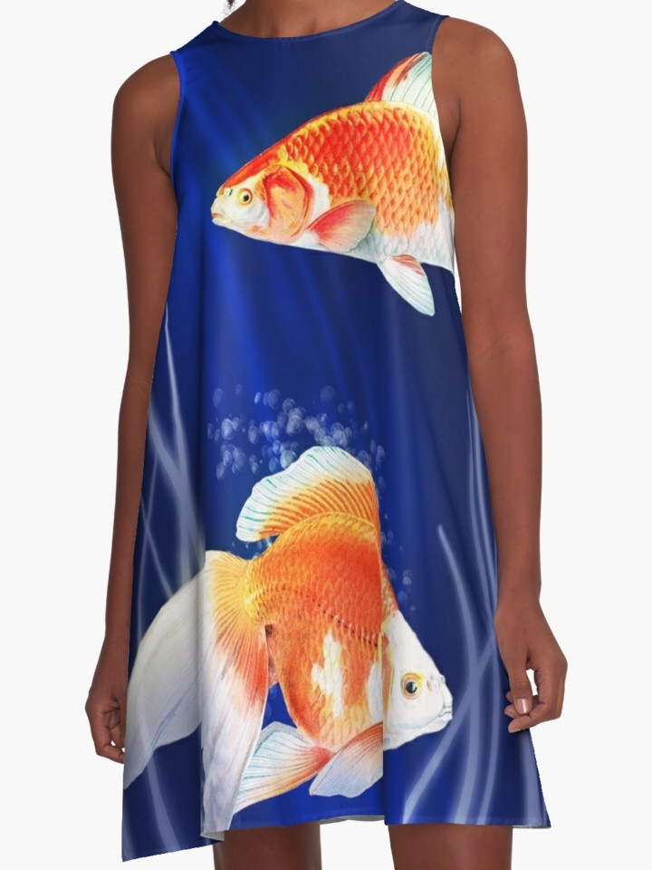 dress, awesome opinion - goldfish - littlebunnysunshine | ello