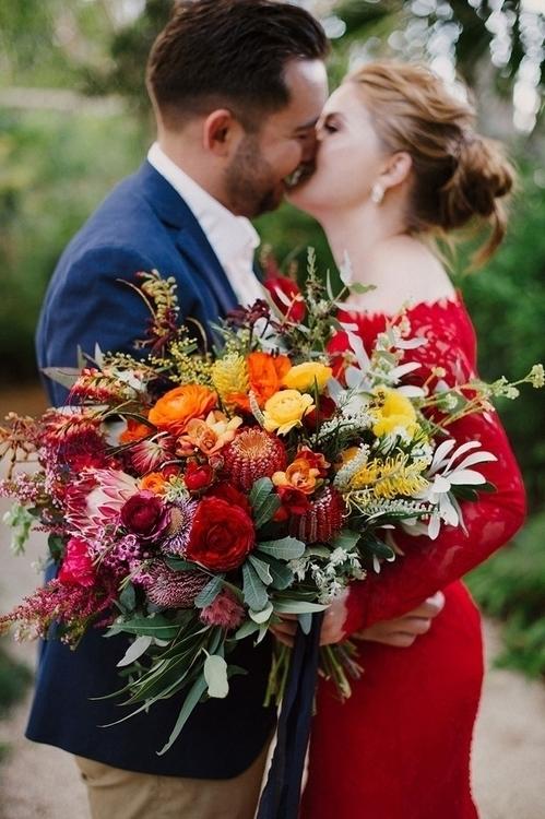Rainbow Sophie Baker Photograph - weddingplaybook   ello