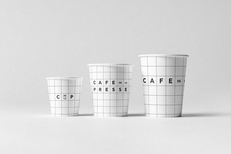 Paper cups Cafe de la Presse; b - hellopanos | ello