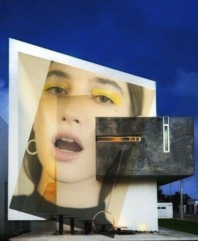 ma`home _0.1 - collage, digital - pourpose | ello