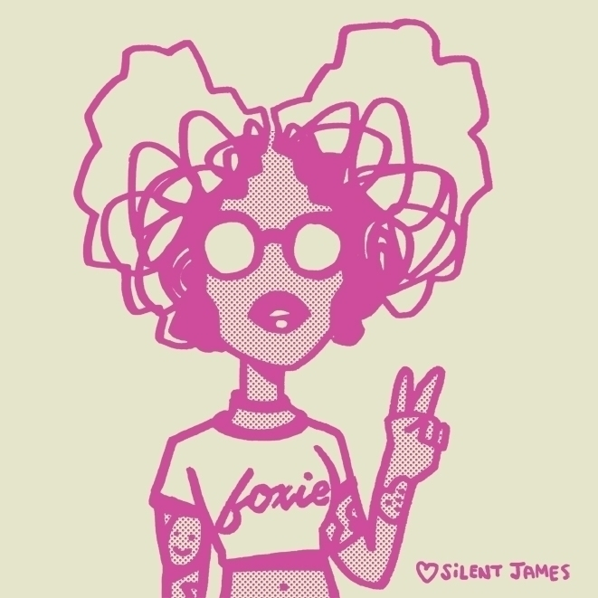 Illustration Kayla Phillips, si - silentjames | ello