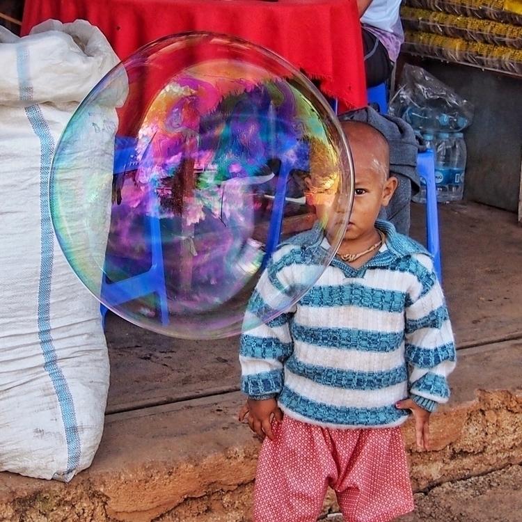 Wonderment innocence - myanmar, bubblesnotwar - kyphotos | ello