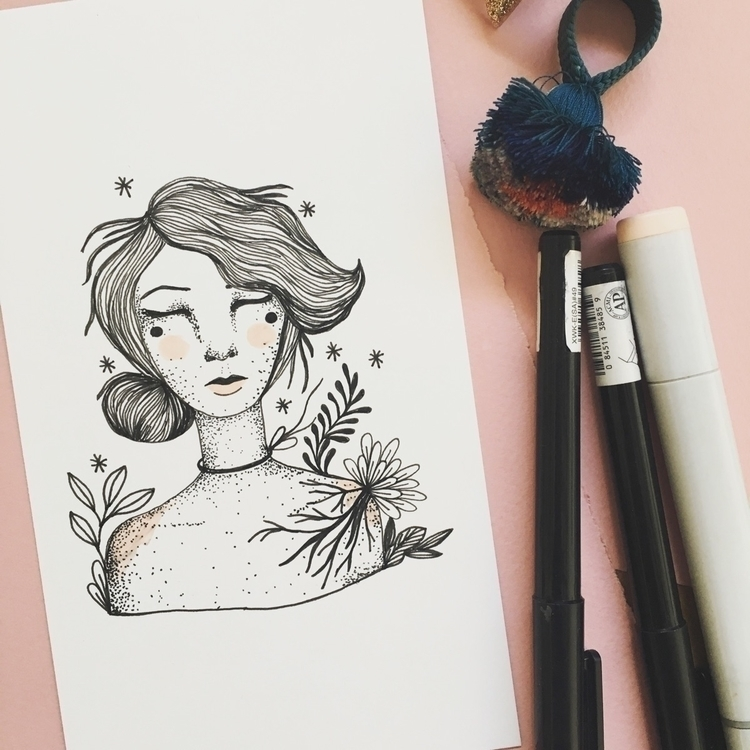 month, drawing - artbynwpb, doodles - nwpb | ello