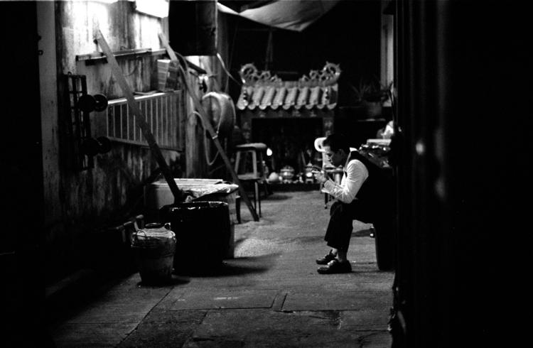 Alley. HK 2017 TMax400 - suanlin | ello