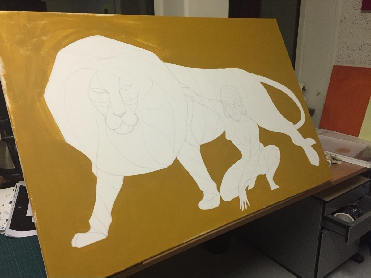 Work progress - illustration, sketch - mariosupa   ello