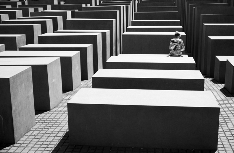 Memorial Geometry, Berlin - Str - lindawisdomphotography | ello