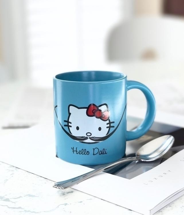 Kitty! Dalí! Kitty!... mug Virg - carolinaseth | ello