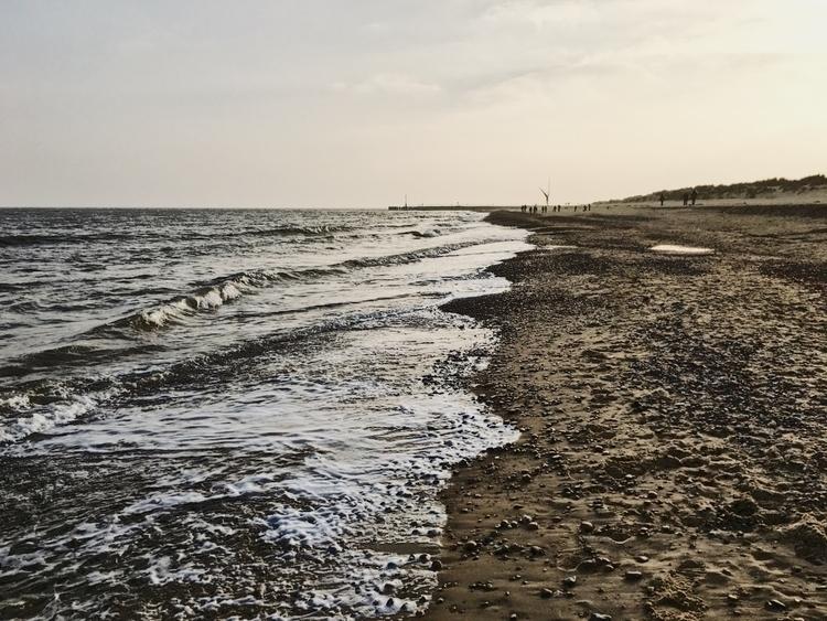 Afternoon walk Southwold Beach - davidhawkinsweeks | ello