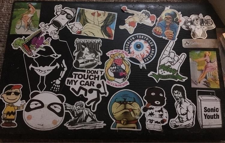 laptop... stickers - computer, gateway - fidelcastr8   ello