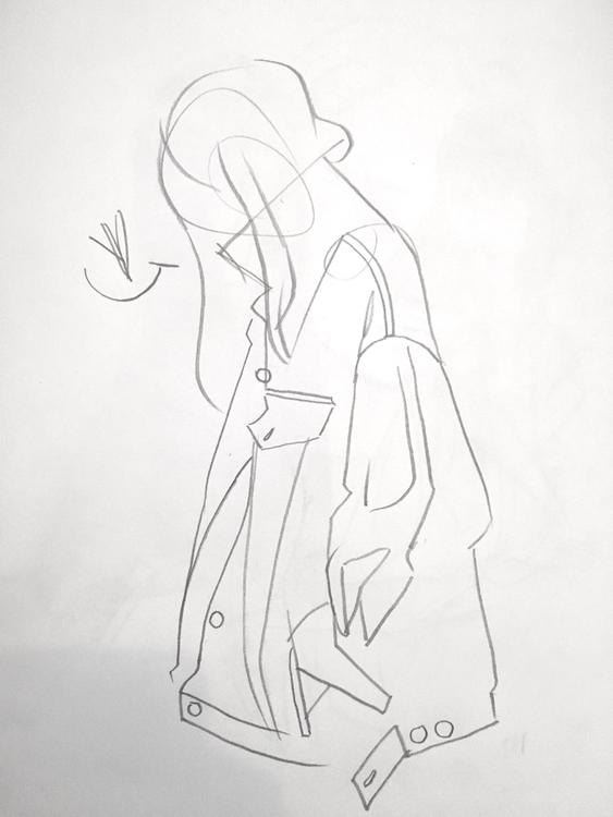 Seeking confident line - sketchbook - evandileo | ello