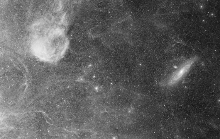 Sivan 2 M31 - cassiopeia, andromeda - valosalo | ello