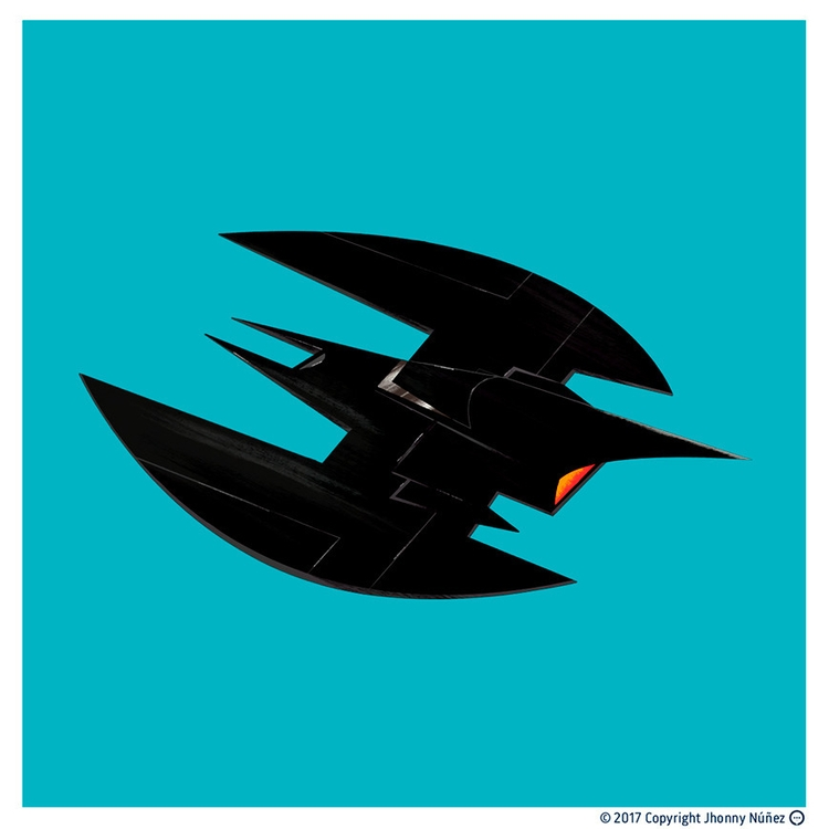Batwing!  - JhonnyNúñez, illustrations - dblackhand   ello