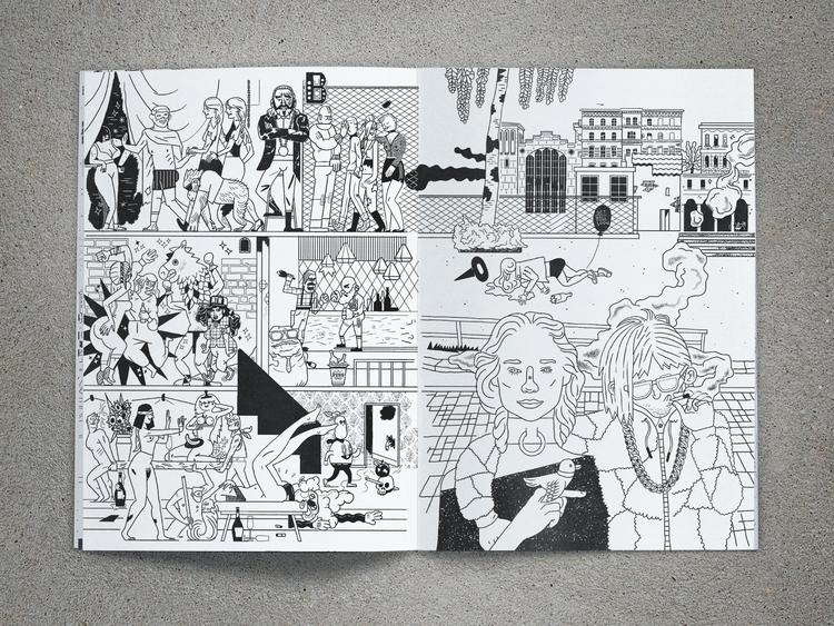 berghain, berlin, coloringbook - jan_d_gillich | ello