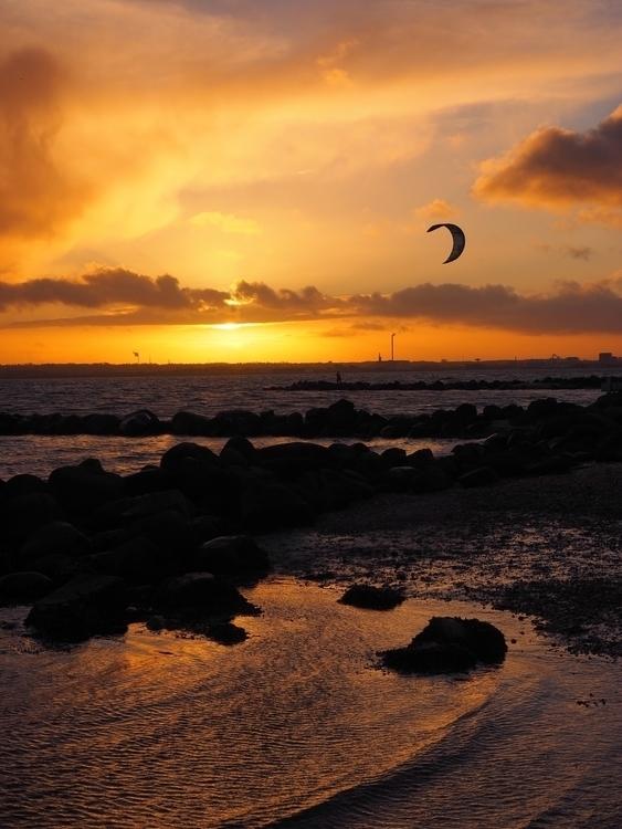 sunset, seascapes, landscapes - annettespics | ello