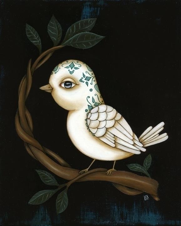 El Pajaro bird) created Loteria - leabarozzi | ello