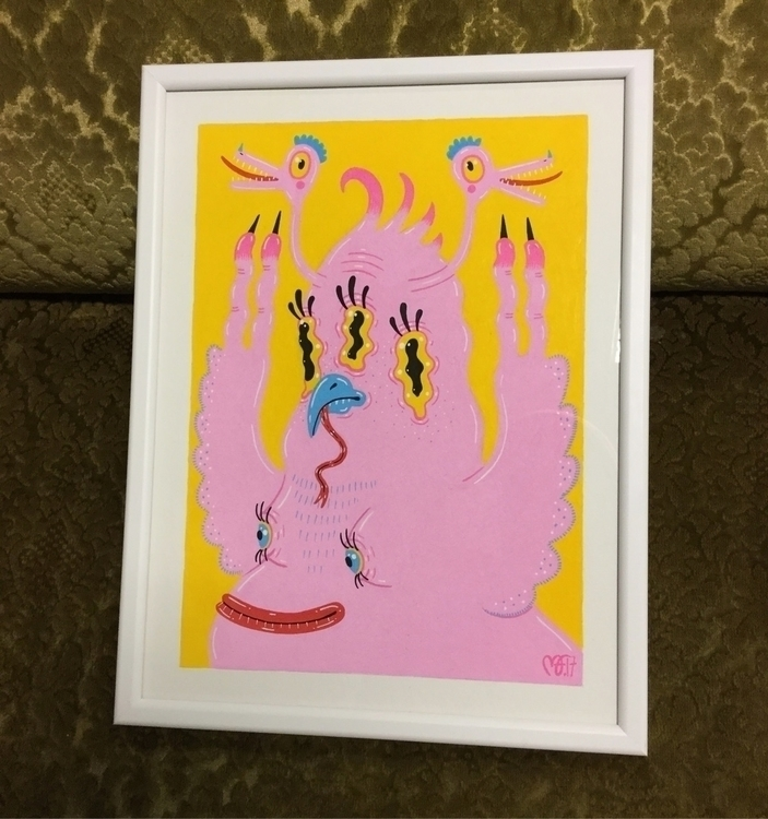 piece group exhibition 'Monster - madfoss | ello