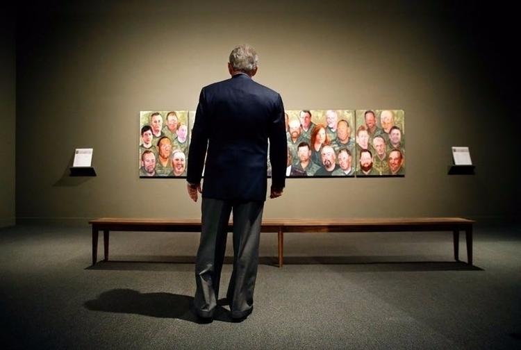 President George Bush takes 'Po - ellonews   ello