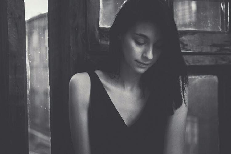 silence. Ashley Dane Clark - portrait - iangarrickmason | ello