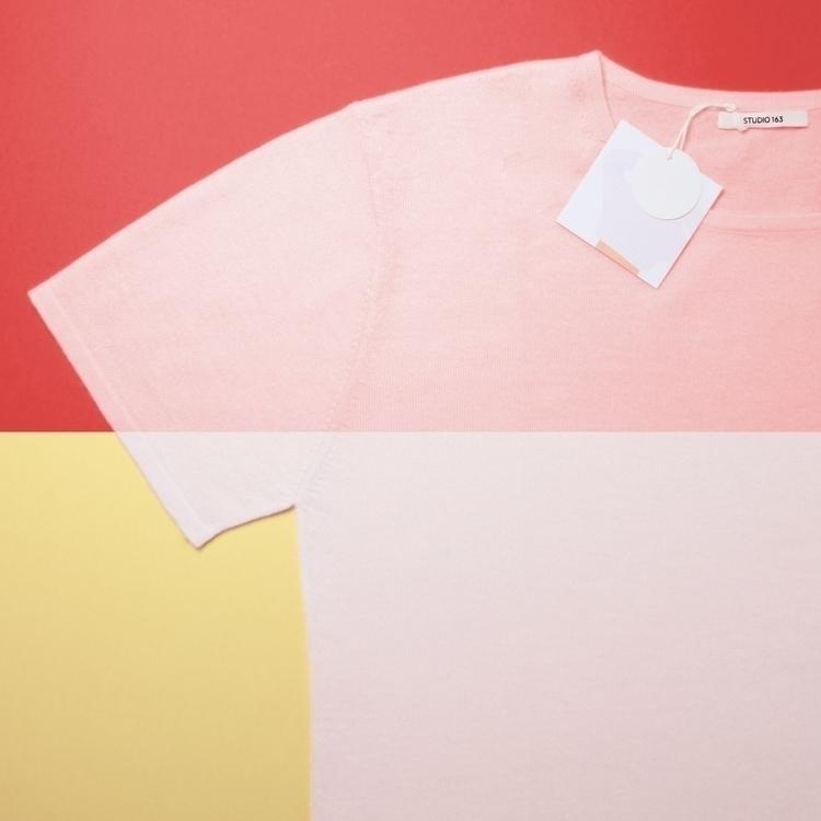 STUDIO 163 Flacked pink white s - studio163 | ello