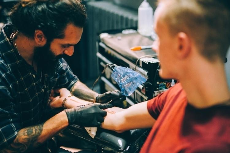 tattoo Greg Golden Iron Tattoo  - jonathonreed   ello