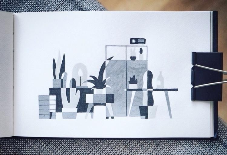 stuff - sketch, sketchbook, illustration - jorenpeters | ello