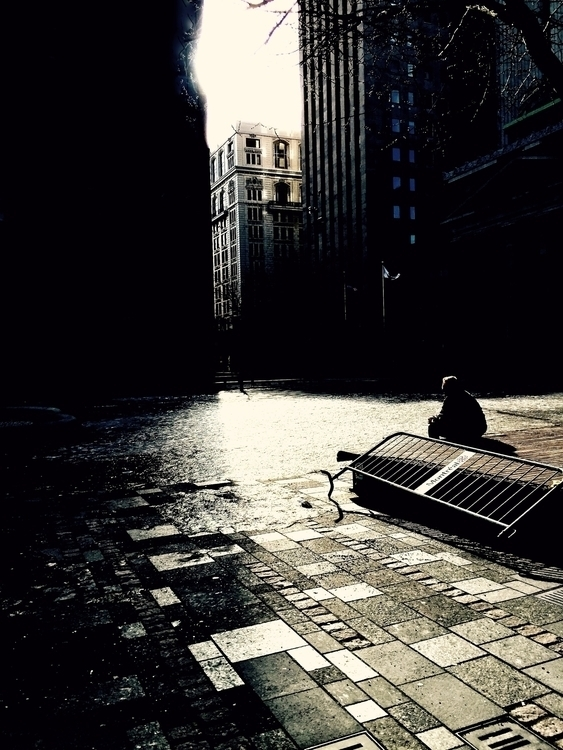 Surrounded solitude - montreal, photography - vstg | ello