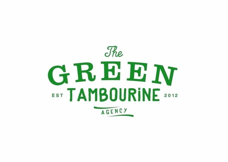 Green Tambourine agency logo de - jamesenjoyrelax | ello