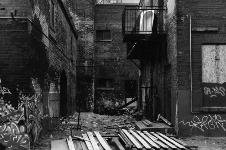 Urban Ruins - Toronto, demolition - benroffelsen | ello