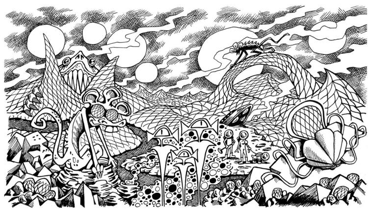 Original drawing Crazy Hops art - nathanael_mikles | ello