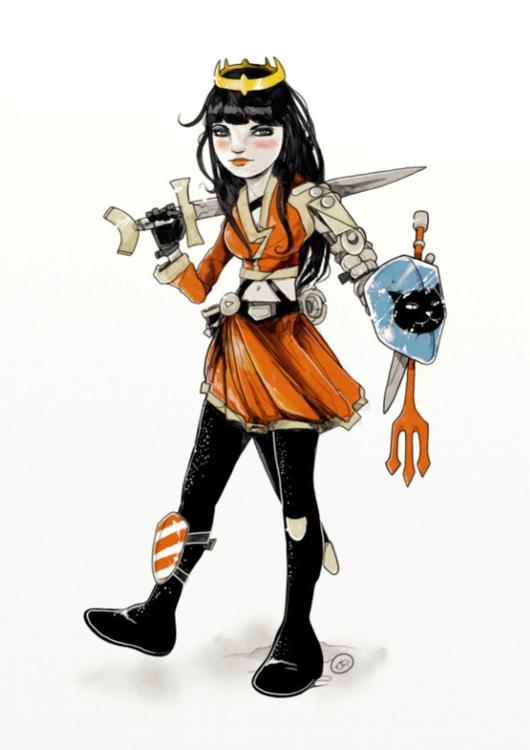 illustration, artwork, drawing - shugmonkey | ello