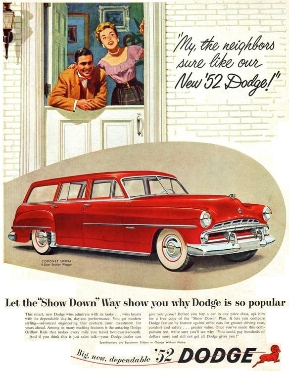 Dodge Dealer Give Proof! 1952 C - kohoso   ello