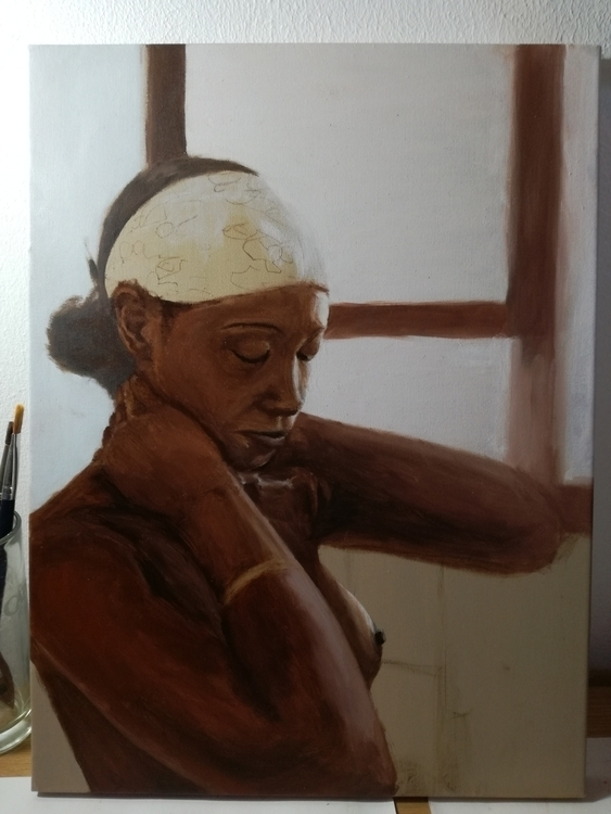 Painting / Underpainting Progre - david_joffe | ello