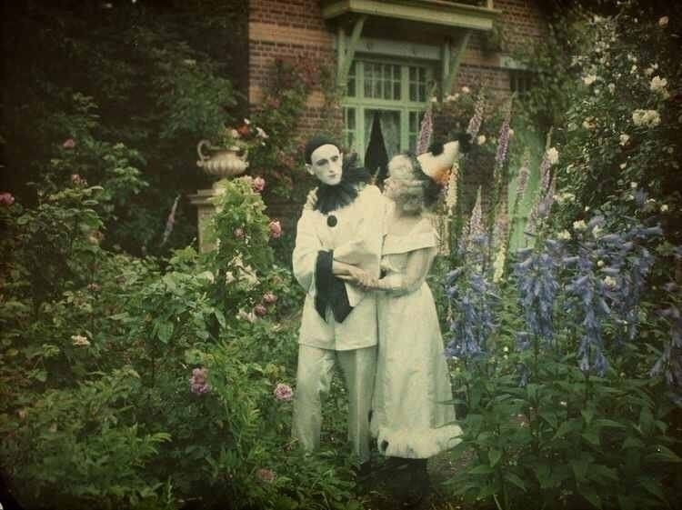 garden, vintage, edwardian, autochrome - victorianchap | ello