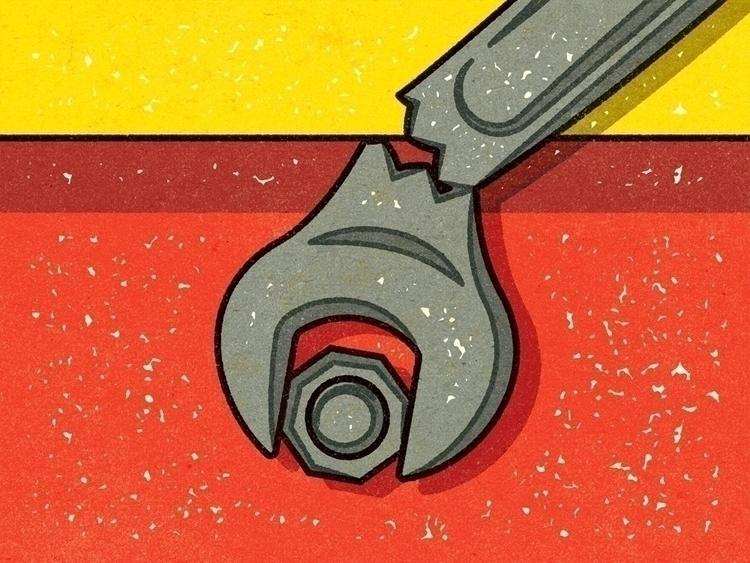 Wrenched Wrench Alexei Vella - editorial - alexeivella | ello