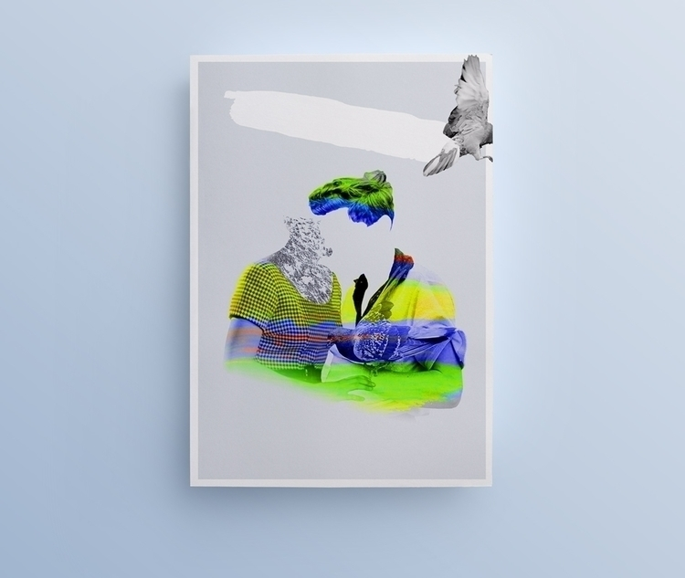 Poster Ghost Love — Julien Cour - juliencourtial | ello