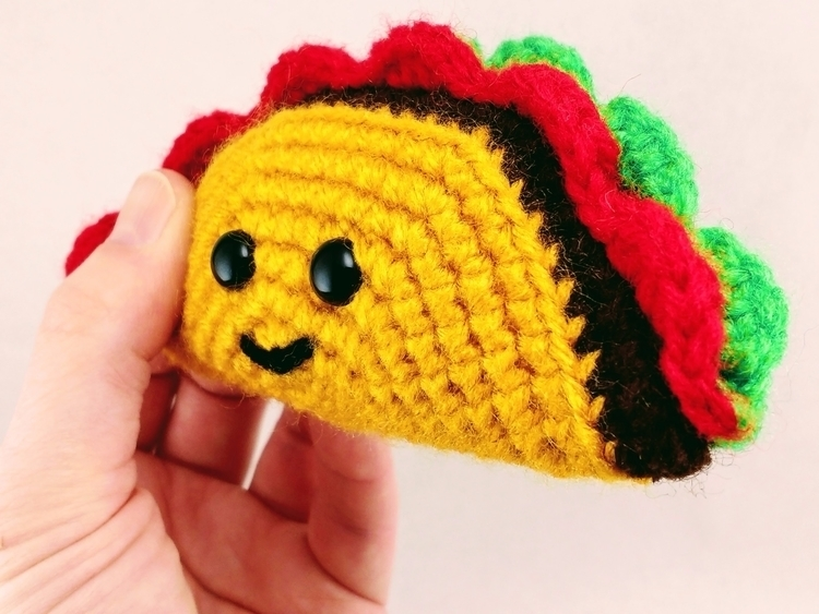 Tuesday, means - TacoTuesday, handmade - miniaturemonkeycreations | ello