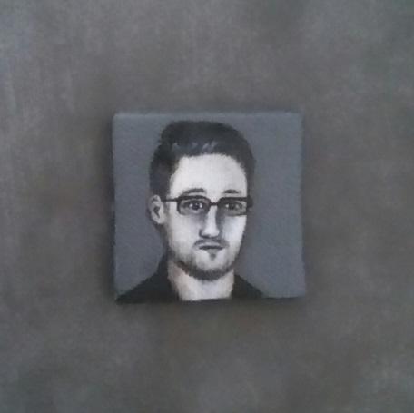 Miniature portrait EDWARD SNOWD - nora_ | ello