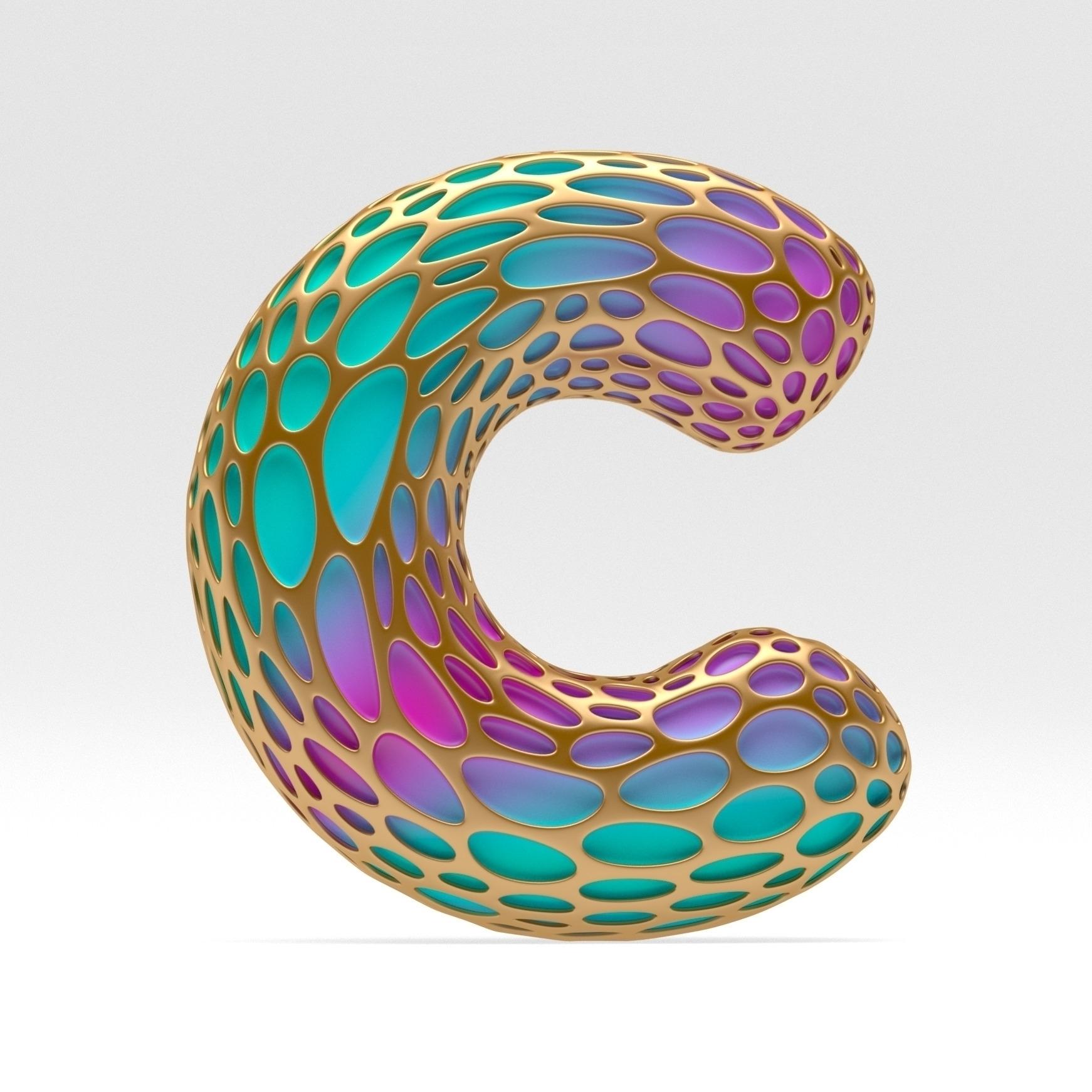 Letter - c4d, 3d, render, arnold - noahcamp | ello