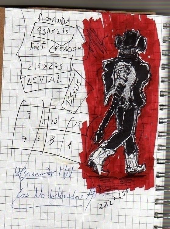 Lemmy, Doodle, sketch, cartoon - cjburgos | ello